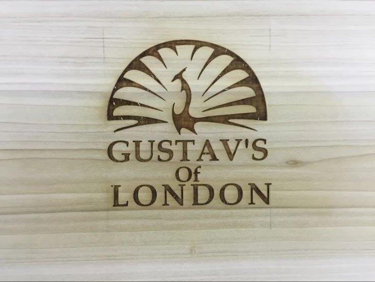Wooden logo creation