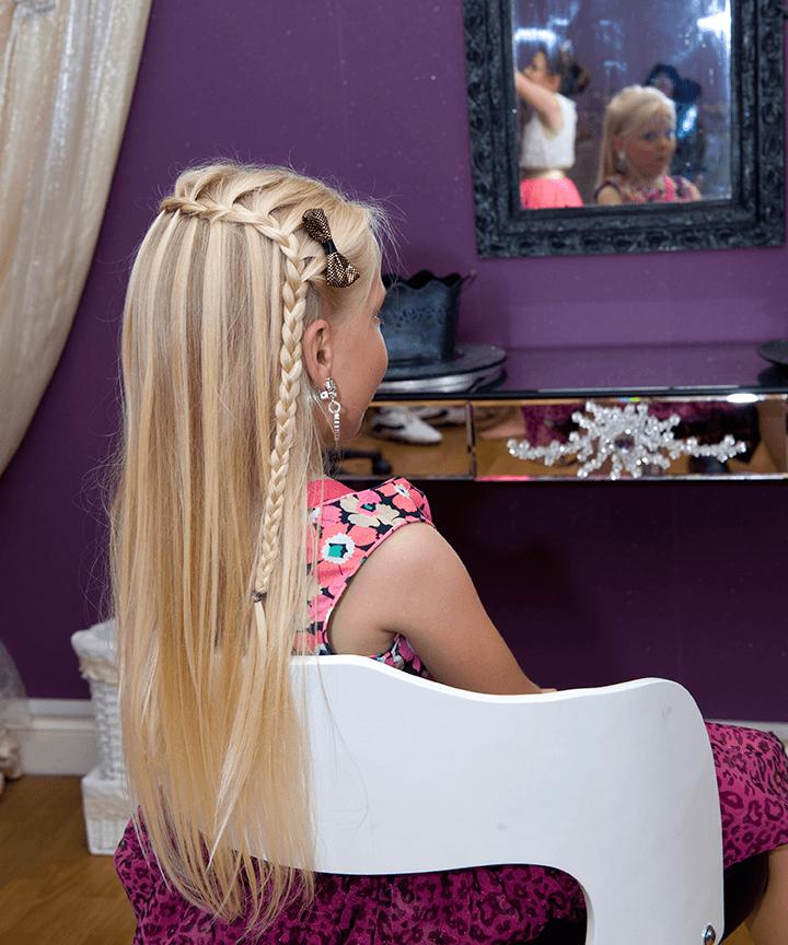 custom hairstyle