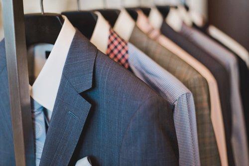 Range of men formal wear in Edinburgh