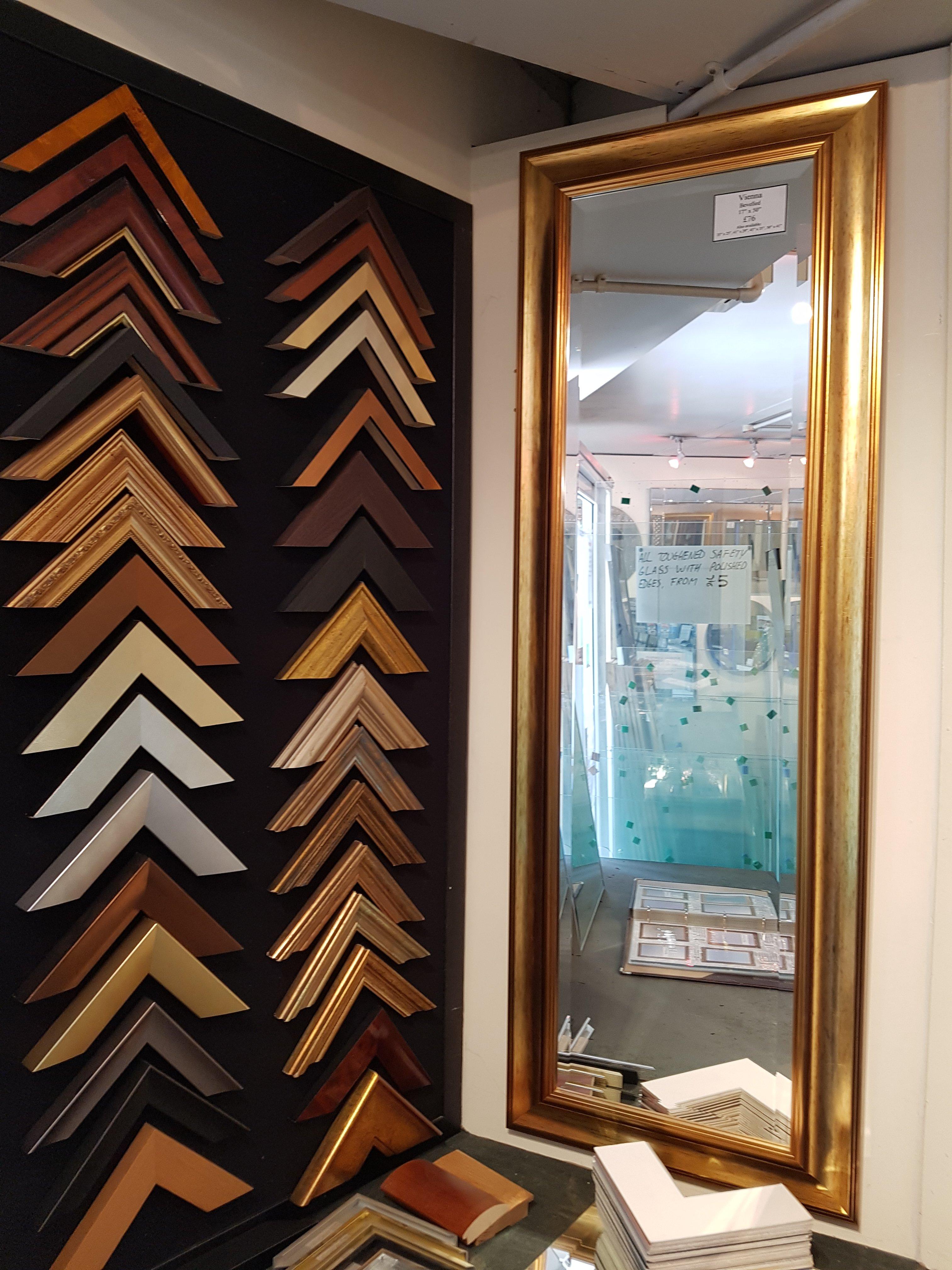 Berkshire - mirror frames - Glass Reading Ltd