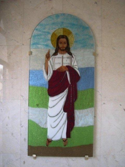 vetrata, chiesa