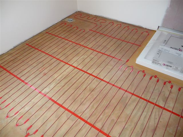 under tile heating