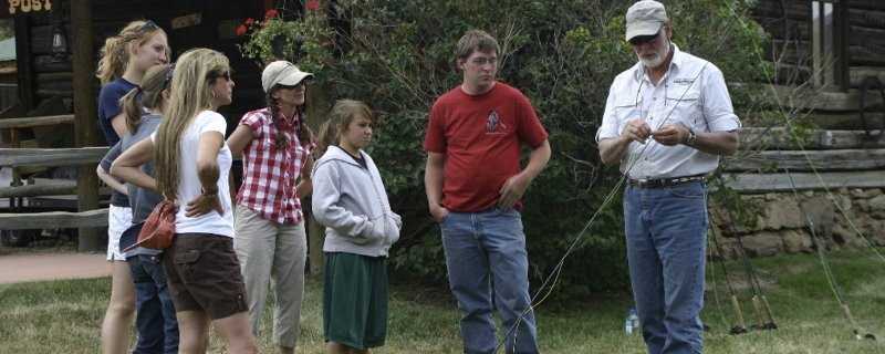 North Fork Ranch Fly Fishing Clinic