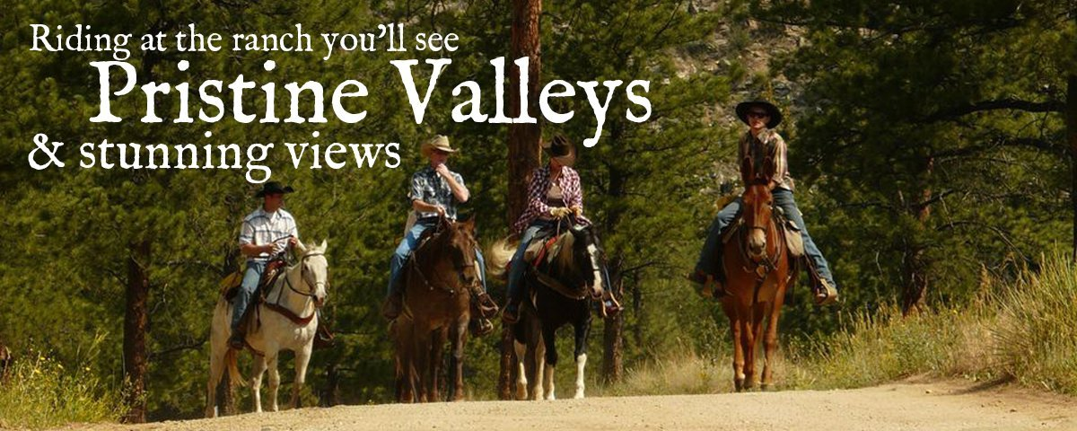 North Fork Ranch Horseback Riding