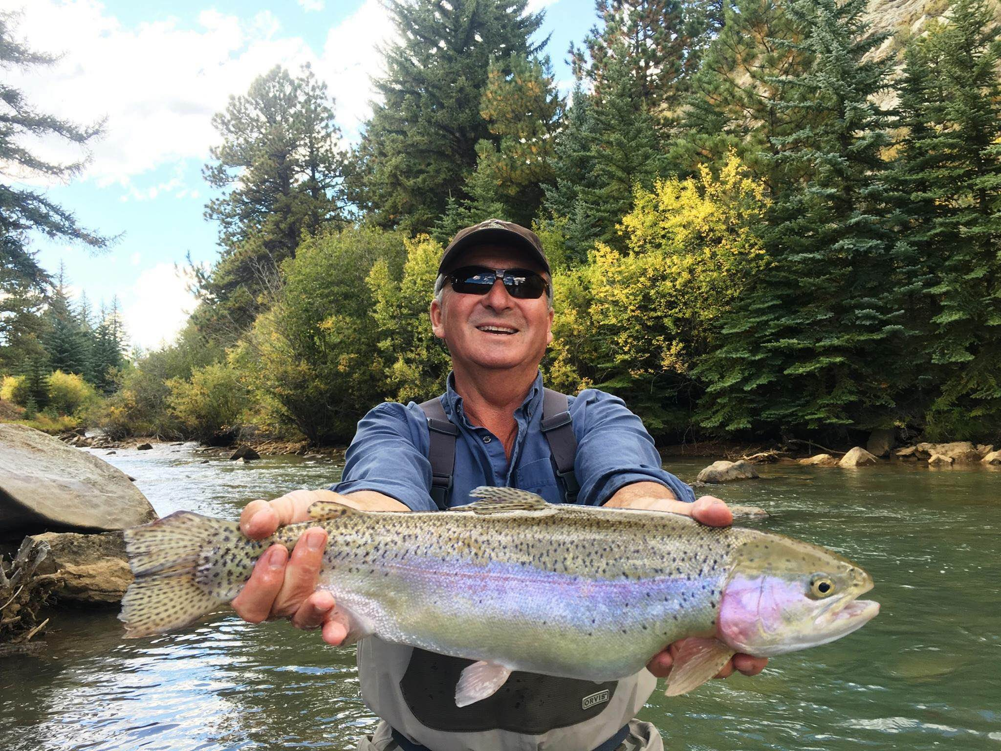 North fork ranch shawnee co for Colorado fish stocking