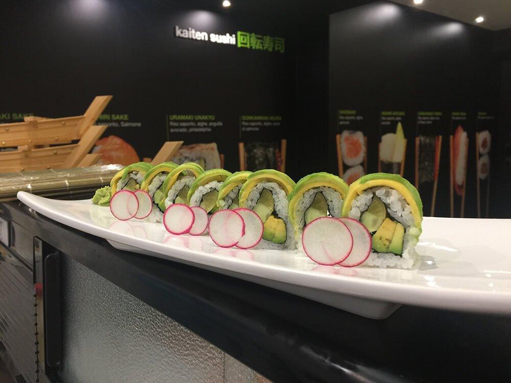 Sushi a Terni