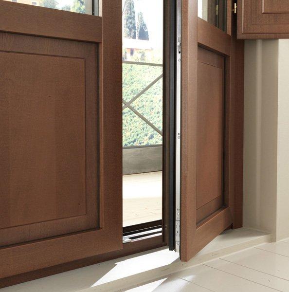 angolo di una porta