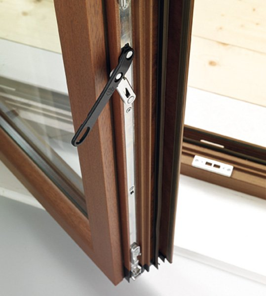 parte meccanica di una finestra