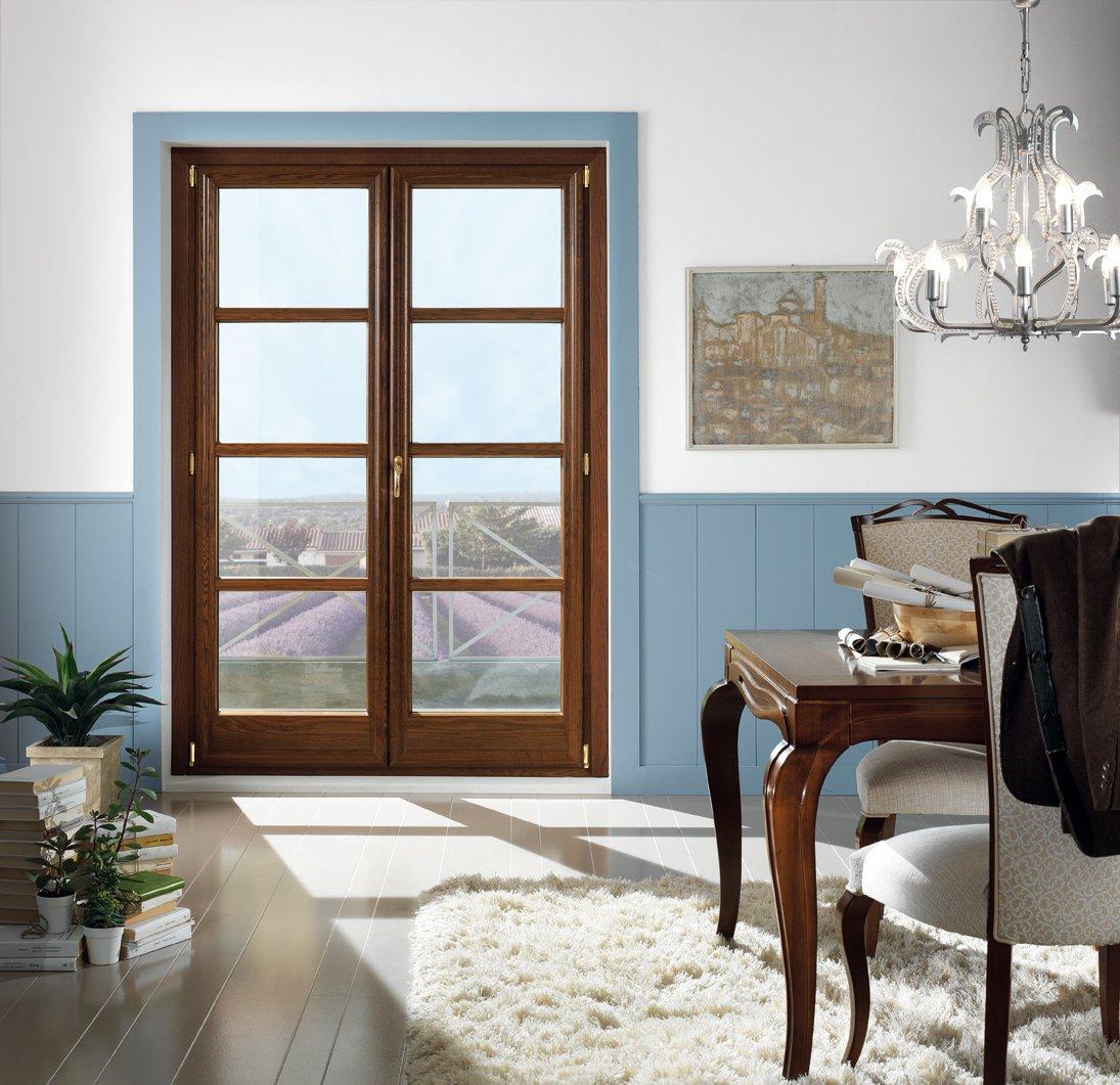 finestra vetrata per zona giorno