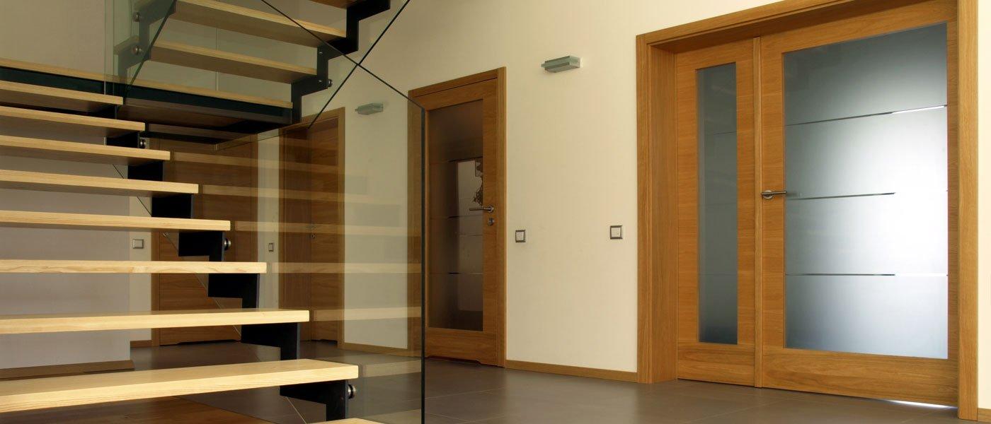 scalinata con porte design