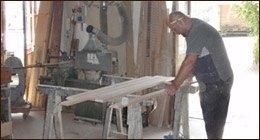 lavorazione legno pregiato