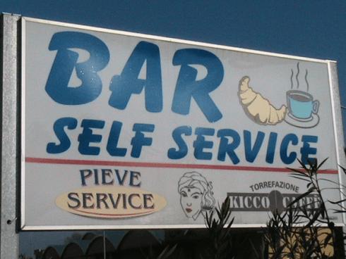 bar self service