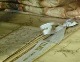Particolare lenzuola in cotone di raso torino