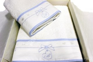 Ciondolino set asciugamano baby
