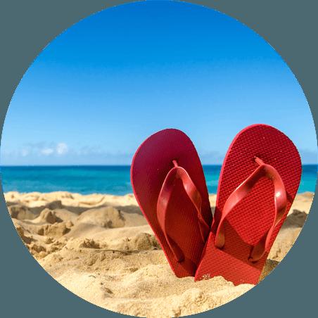 Sandali da spiaggia