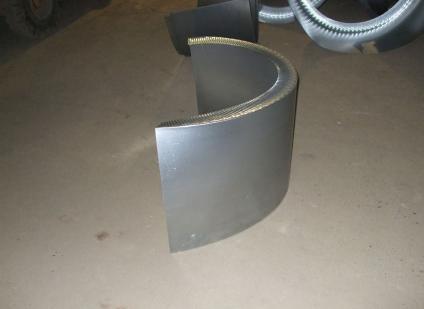 componente per imballaggio lamiere metalliche