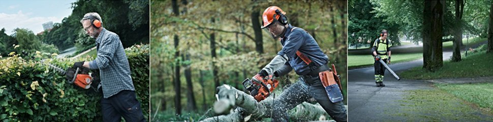 Tree and hedge cutting equipment