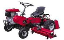 LM180C Ride-On Triple Cylinder Mower