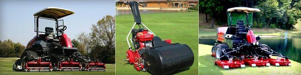 Fine turf machinery