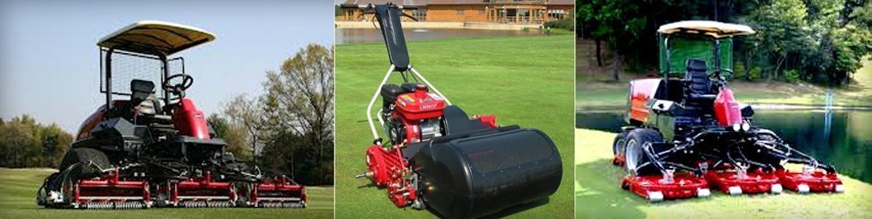 Fine turf machinery