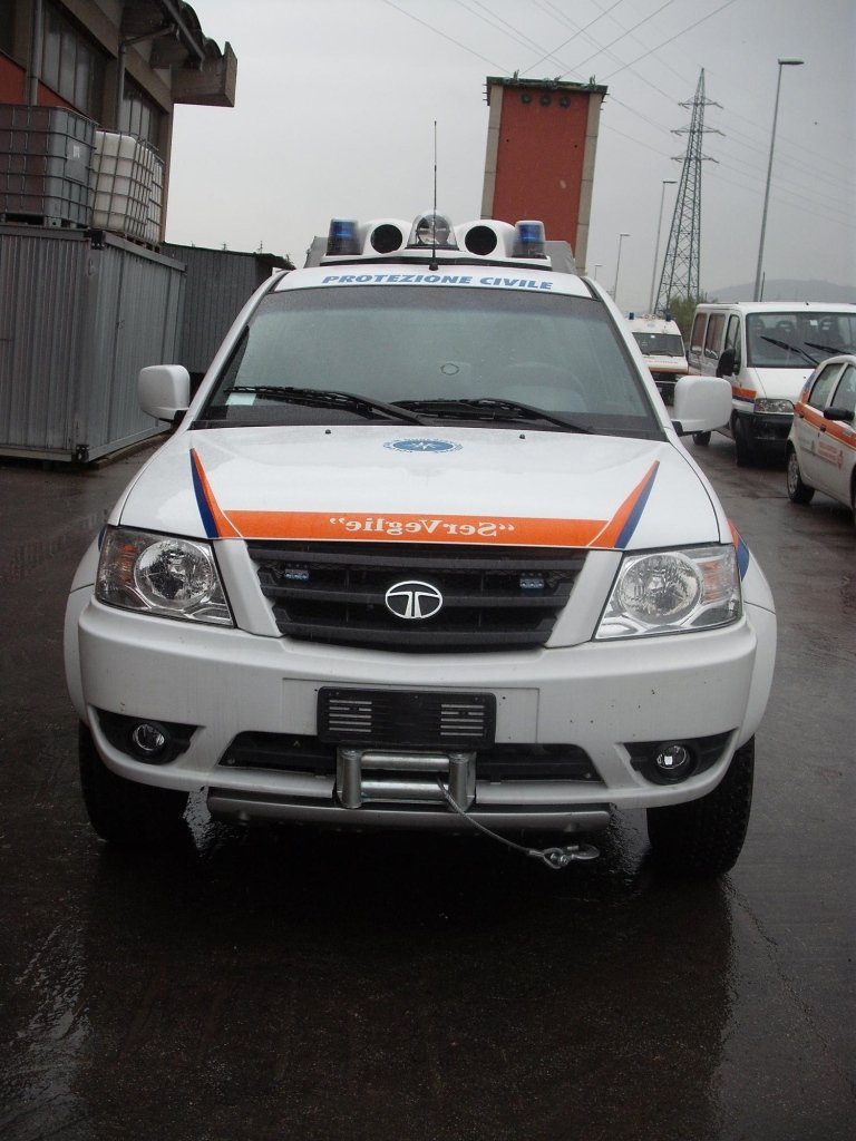 Civil Protection Vehicles Tata model