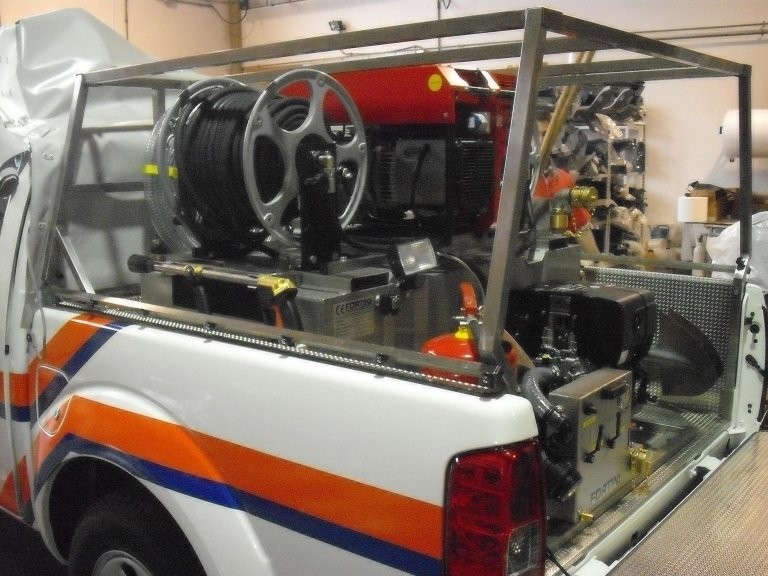Civil Protection Vehicles L200 model