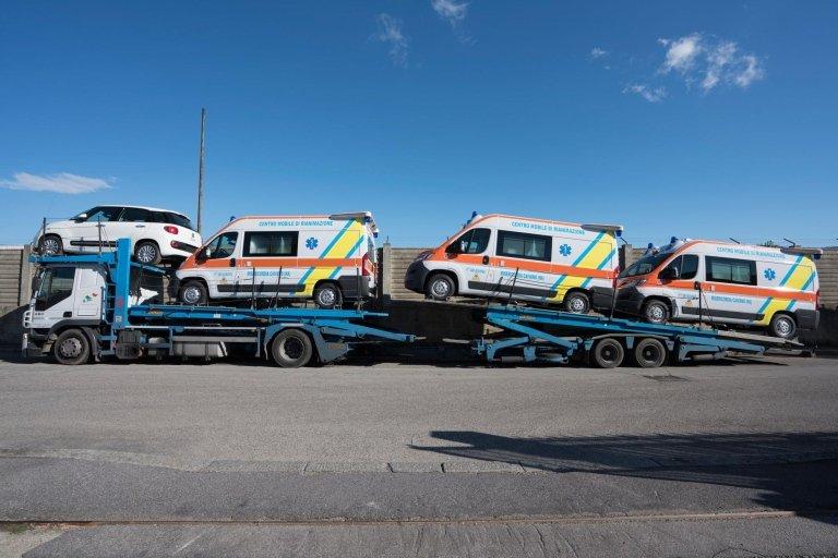 Ambulanze e veicoli di soccorso
