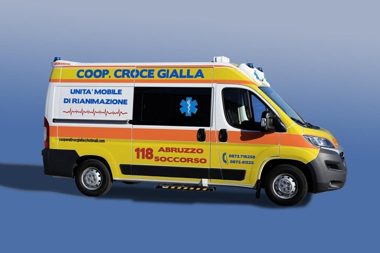Personalizzazioni esterne veicoli di soccorso
