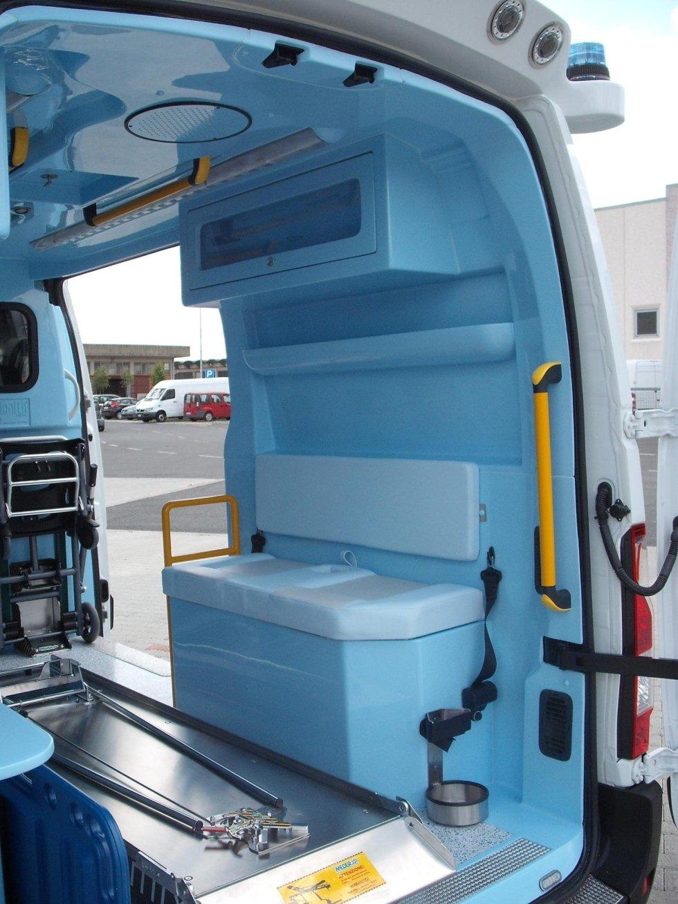 Ambulanza di soccorso modello Master