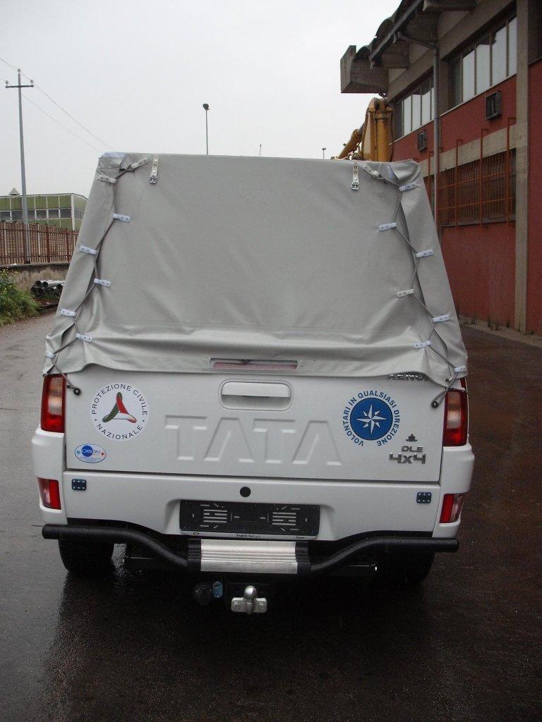 Véhicules de protection civile modèle Tata