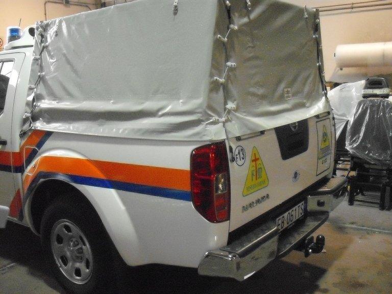 Véhicules de protection civile modèle L200