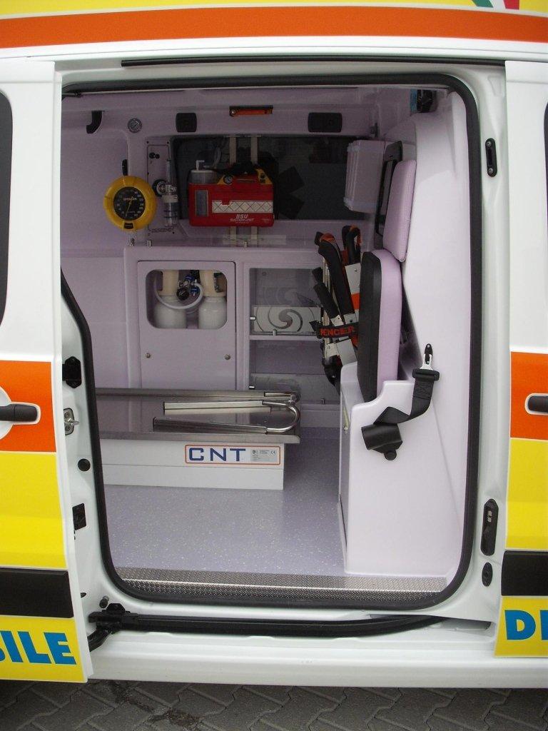 Ambulanza di trasporto modello Scudo Quadra