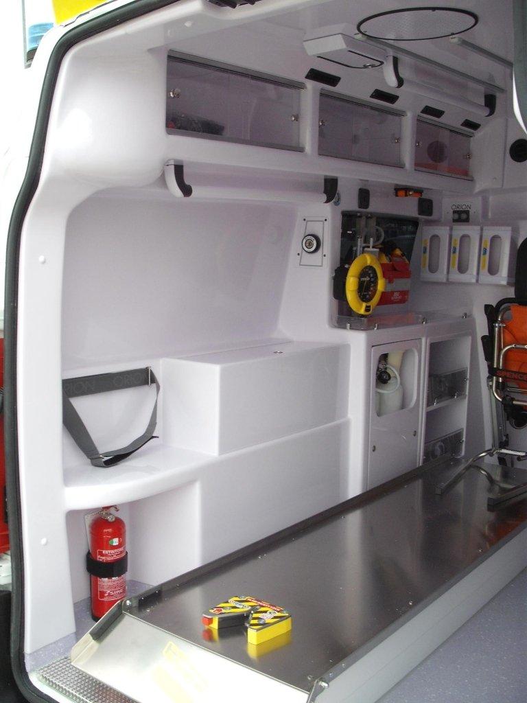 Ambulance de transport modèle Scudo Quadra