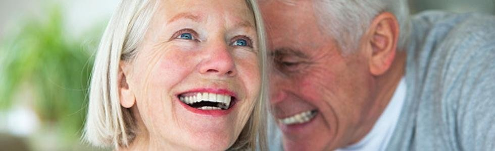 anziani sorridenti
