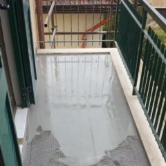 Impermeabilizzazione di terrazzo con MAPELASTIC, Firenze