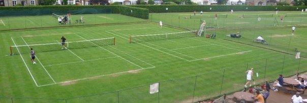 Grass Court Tennis at Surbiton RFC, South West London