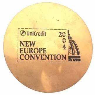 unicredit, convention, targhette invito