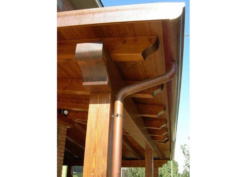 porticati esterni in legno