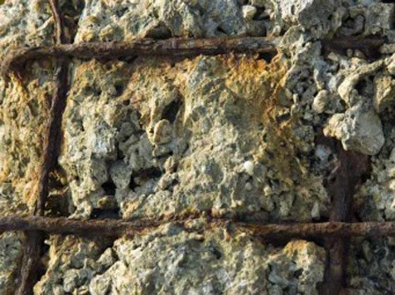 usura cemento