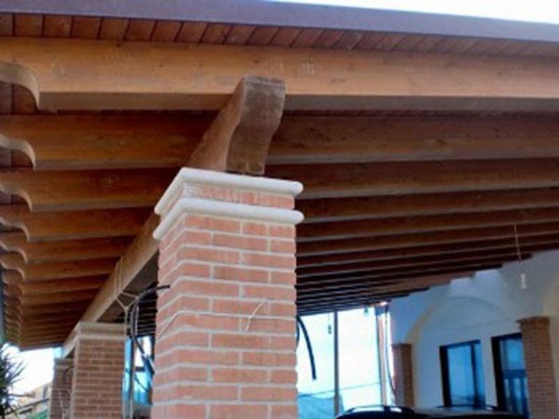 porticati in legno