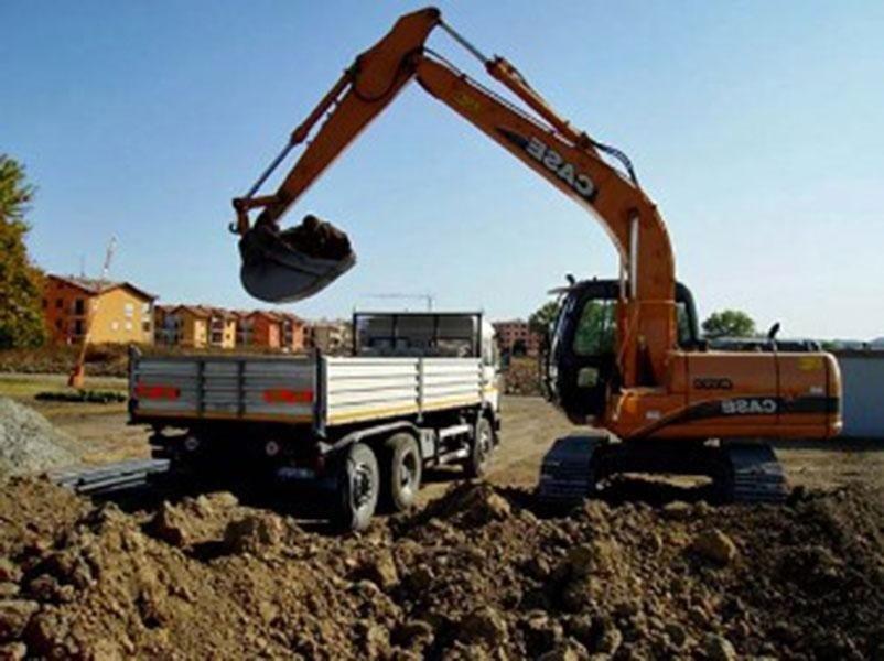 scavi per cantieri