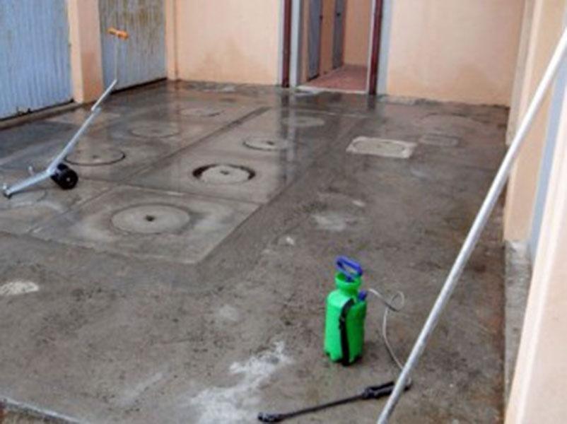 avori di mantenimento pavimentazioni
