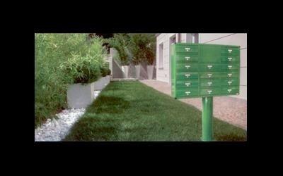casellario postale su piantana