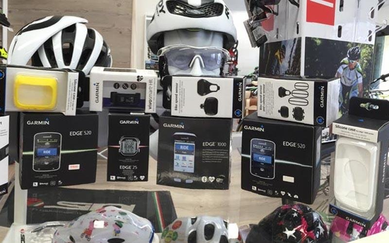 vendita occhiali bici
