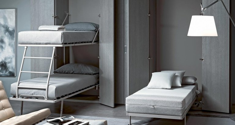 zippo letto singolo a scomparsa