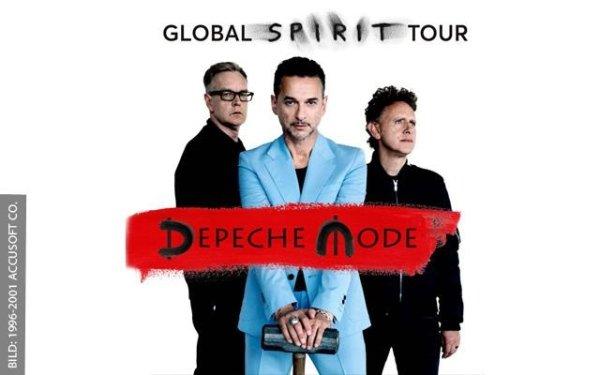 tour 2017 Bologna Depeche Mode