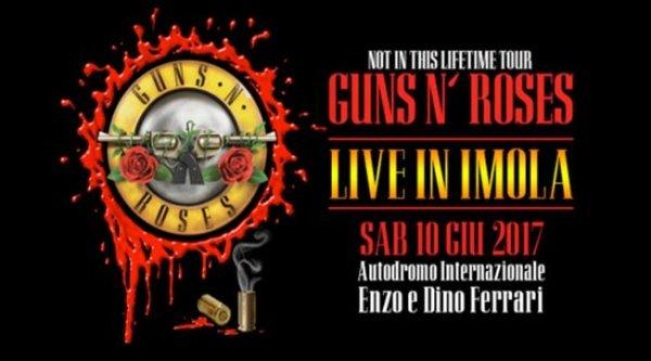 guns n roses imola 2017