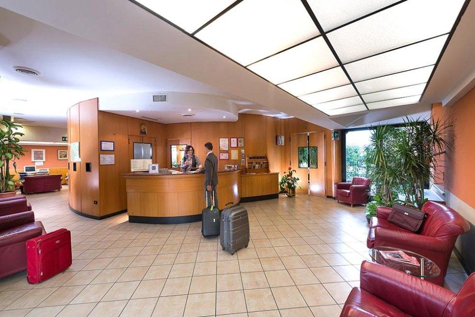 hotel lobby entrance