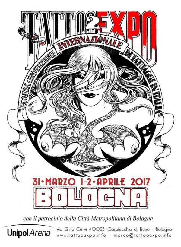 tatto expo bologna 2017