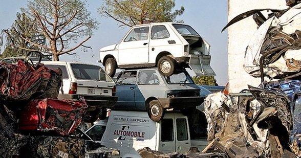 recupero materiali auto